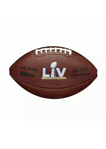 Super Bowl LV 55 Chiefs Buccaneers Official Wilson Authentic Game Football Boxed