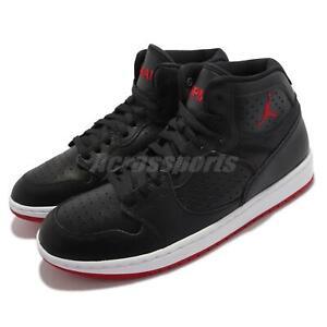 Nike Jordan Access Black Gym Red White Men Casual Lifestyle Shoes AR3762-001