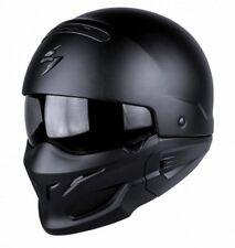 Cascos lisos Scorpion color principal negro para conductores