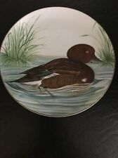 Porcelain Brown Duck Plate by Nancie Goldstein from Sigma Tastesetter