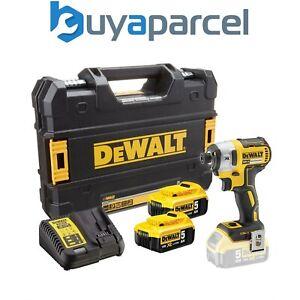 Dewalt DCF887P2 18V XR G2 Brushless 3 Speed Impact Driver - 2 x 5.0ah Batteries