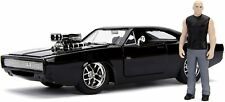 Jada Fast & Furious Dom and Dodge Charger Figures (30737)