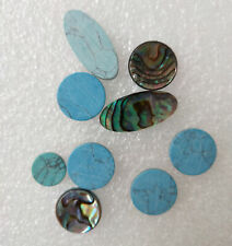 New Saxophone Real Mother of Pearl Key Buttons Inlays