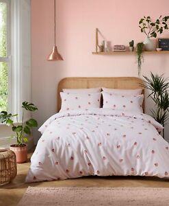 Teenage Girls Skinny Dip Bedding Peachy Pale Pink Duvet Cover Set
