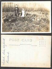 Old Canada Real Photo Postcard - Luseland, Saskatchewan, Herbert, Lola Weybrecht