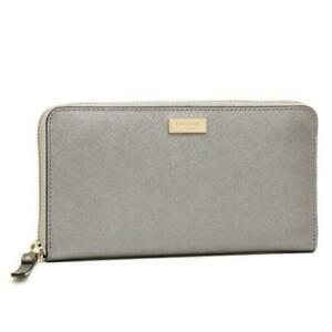Kate Spade New York Newbury Lane Saffiano leather zip around Wallet NEDA NWT