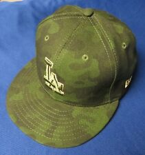 JOC PEDERSON #31 Team Issued DODGERS 2019 ARMED FORCES Memorial Day HAT Cap CAMO
