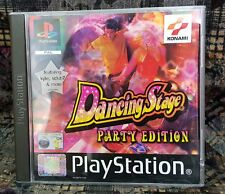 Play Station Spiel PS1 Dancing Stage Party Edition + Anleitung Zustand OK + OVP