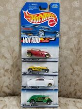 2000 HOT WHEELS HOT ROD MAGAZINE COMPLETE SET OF 4 CARS