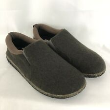 FoamTreads Desmond 2 Slip On Moccasin Slippers Shoes Brown Mens Size 8.5 W EUC