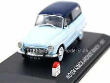 SIMCA ARONDE RANCH 1961 N°104 1/43