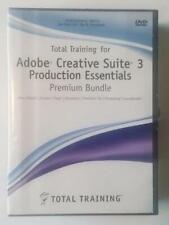 Total Training for Adobe Creative Suite 3 Production Essentials Premium (11 DVDs