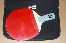 DHS 6 Star 6005 Table Tennis Paddle/Bat/Racket,One Pips-in rubber, Penhold