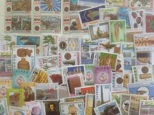 300 Different Ethiopia Stamp Collection