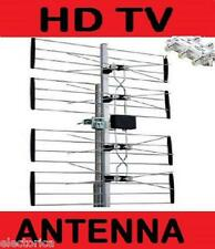 QUALITY VHF UHF HD TV OUTDOOR ANTENNA FREE TV 4 BAY OVER THE AIR OTA HDTV 4BAY