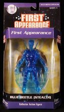"""2007 DC DIRECT FIRST APPEARANCE SERIES 4 BLUE BEETLE (STEALTH) 6"""" FIGURE MOC"""