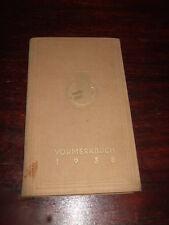 Vormerkbuch 1938,Kalender,Ostelbisches Braunkohlen Syndikat Berlin,Antikbuch,rar