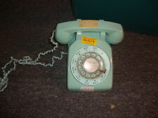 Aqua Blue Rotary Telephone Bell Systems Western Electric