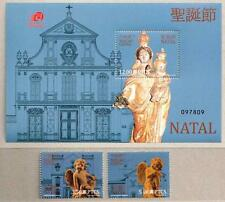 China Macau Macao 2013 Christmas Natal stamps S/S - Church