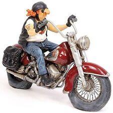 Guillermo Forchino Comic The Motorbike Forchino Biker Figurine Sculpture Statue