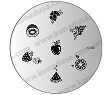 1 IMAGE PLATE M55 Konad Stamping Nail Art Design Nails