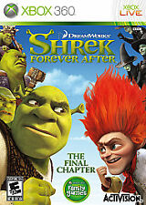 Shrek Forever After: The Final Chapter (Microsoft Xbox 360, 2010)