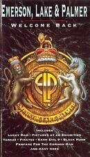 EMERSON, LAKE & PALMER Welcome Back (1992) VHS ORIGINALE 1ª EDIZIONE
