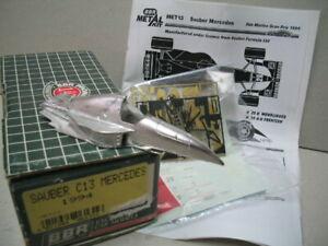 BBR MODEL MET 13 SAUBER C13 MERCEDES SAN MARINO GP 1994 F1 1/43 SCALE KIT