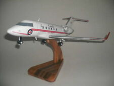 Challenger 604 Canadair Gear down Wood Airplane Model Small Free Shipping