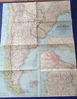 National+Geographic+1958+Map+Of+Southern+South+America.Preowned.
