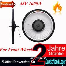 "26"" 48V 1000W E-Bike Elektro Fahrrad Umbausatz Conversion kit for FRONT Wheel"