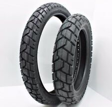 New Shinko 90/90-21 & 130/80-17 705 Tire Set For XL600R, KLR650, DR650SE, XT600