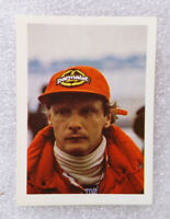 RARE Vintage F1 ✱ NIKI LAUDA & MARLBORO MCLAREN ✱ Collection Sticker 1985 PT
