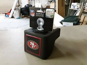 "ShinShield NFL Rubber Trailer Hitch Cover, San Francisco 49ers, 2-1/2"" Ball 1190"