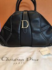 Dior Bag Top Handle Double Saddle Bowler Bag (Large)
