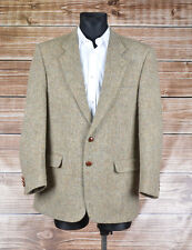 Harris Tweed Brook Taverner Men Jacket Blazer Size EUR-50,44R, Genuine