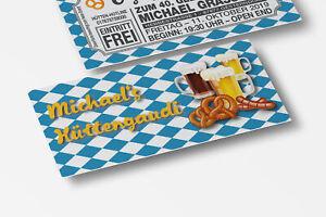 Lustige Einladungskarten Geburtstag bayrisch mit Wunschtext  30 40 50 60 70 80