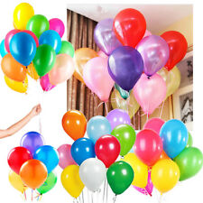 30 Latex Party Balloons Mix Color for Kids Birthday Party weddings Anniversary