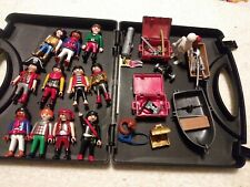PLAY MOBILE LOT OF PIRATES, ACCESSORIES AND CASE 1993, 1997, 1998, & 2002