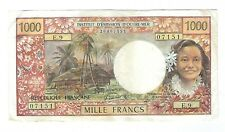 Tahiti - Papeete - 1000 Francs 1971-85