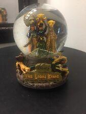 """Disney THE LION KING Award Winning Broadway Musical Snow Globe """"Circle of Life"""""""