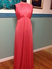 Vintage Gown In Coral