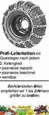 Schneeketten für Rasentraktor passende Reifen:3.00-12, 4.00-9, 16x6.50-8, 165/60