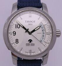 Tissot 1853 PRC200 Mens 40mm Stainless Steel Auto-Quartz Wrist Watch Screw Down