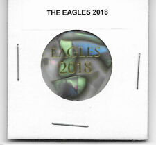 2018 The Eagles Steuart Smith Tour Stage Pearl & Gold Guitar Pick - Rare Look