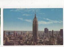 Empire State Building New York City 1958 Postcard USA 566a