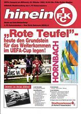 UEFA - EC III 95/96 1. FC Kaiserslautern -  Real Betis Sevilla, 18.10.1995