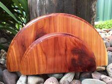 Handcrafted Red Cedar Turkey Fan Mount Taxidermy Plaque