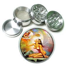 Boris Vallejo Nude Fairies Metal Silver Aluminum Grinder D127 63mm Herb Spices