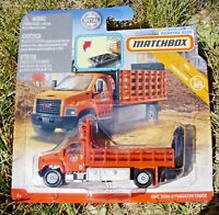 Matchbox 2019 Real Working Rigs RW048. GMC 3500 Attenuator Truck. GBK02